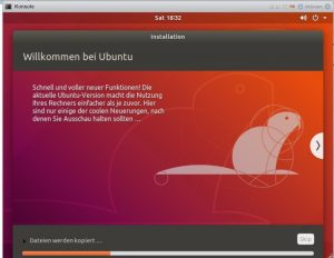 Ubuntu Installscreen